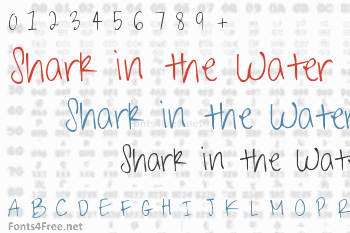Shark in the Water Font