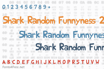 Shark Random Funnyness 2 Font