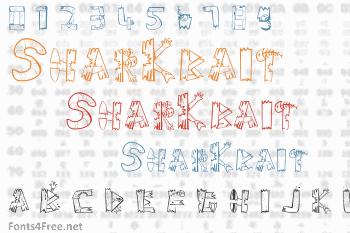 SharKbait Font
