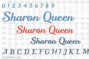 Sharon Queen Font
