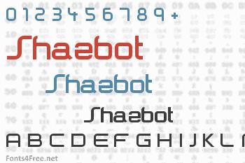 Shazbot Font