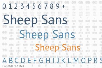 Sheep Sans Font