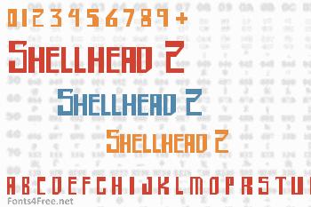 Shellhead 2 Font