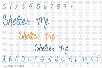 Shelter Me Font