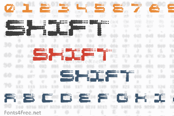 Shift Font