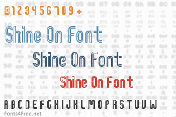 Shine On Font