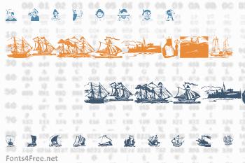 ShipsNBoats Font