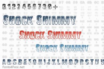 Shock Shimmy Font