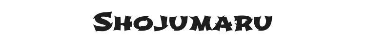 Shojumaru Font Preview