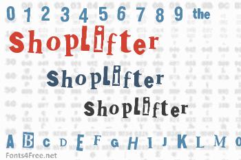 Shoplifter Font