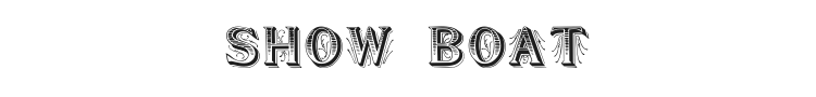 Show Boat Font Preview