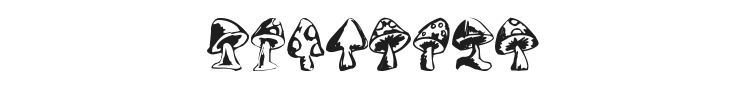 Shrooms Font Preview