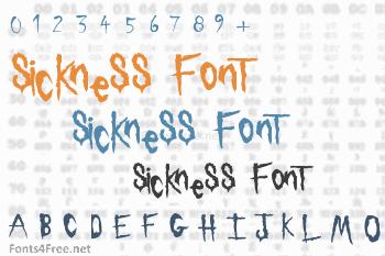 Sickness Font