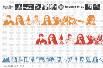 Silent Hill Nightmares Font