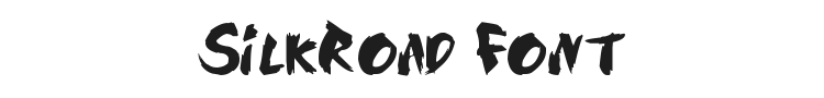 SilkRoad Font Preview