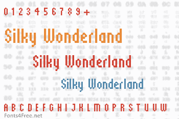 Silky Wonderland Font