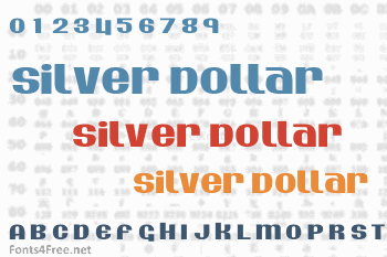 Silver Dollar Font