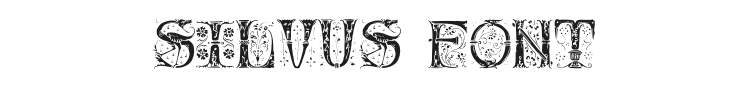 Silvus Font Preview