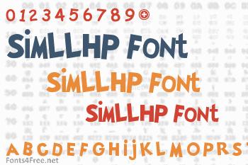 SimLLHP Font