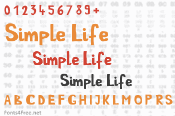 Simple Life Font