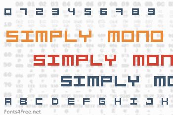 Simply Mono Font