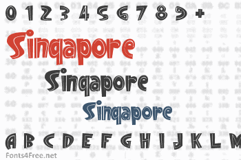 Singapore Font