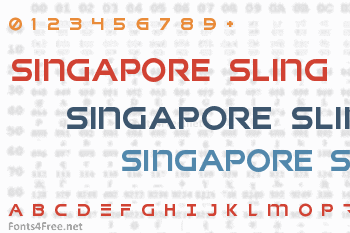Singapore Sling Font