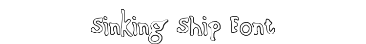 Sinking Ship Font Preview