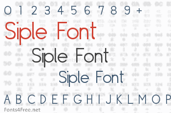 Siple Font