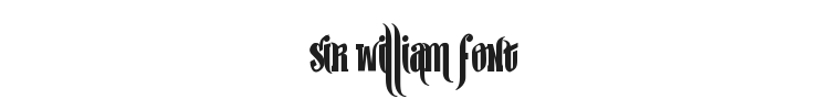 Sir William Font Preview