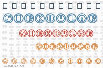 Sirkhular Font
