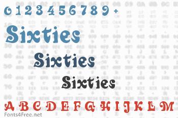 Sixties Font