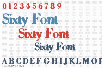 Sixty Font