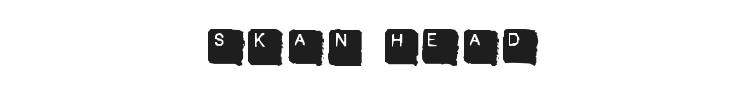 Skan Head Font Preview