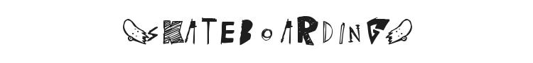 (skateboarding) Font Preview