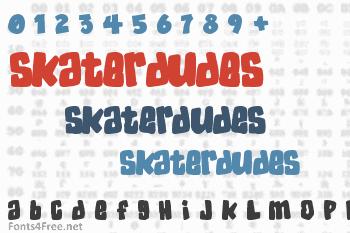 SkaterDudes Font