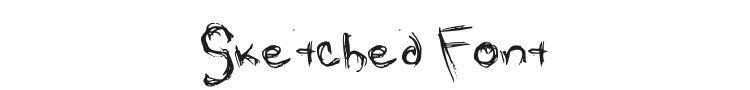 Sketched Font Preview