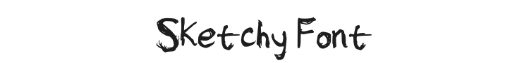 Sketchy Font Preview