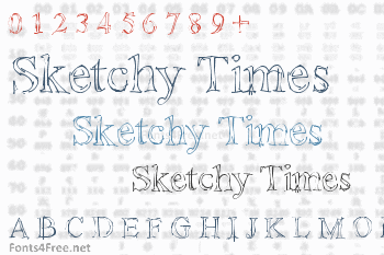 Sketchy Times Font