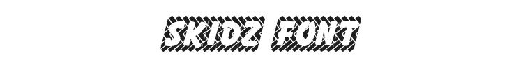 Skidz Font Preview
