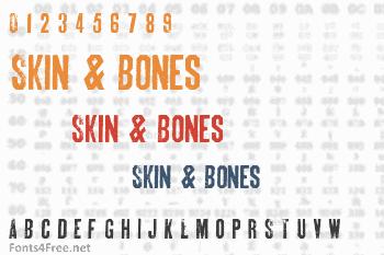Skin & Bones Font