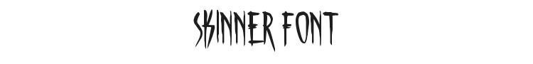 Skinner Font