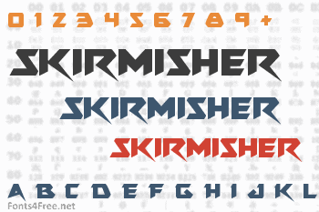 Skirmisher Font