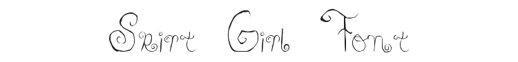 Skirt Girl Font Preview