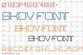 Skov Font