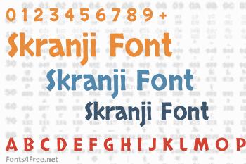 Skranji Font