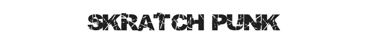Skratch Punk Font Preview