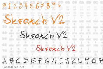 Skratch V2 Font