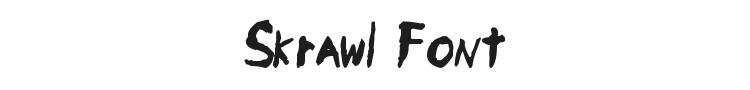 Skrawl Font Preview