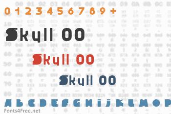 Skull 00 Font